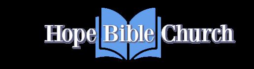 Hope Bible Church logo