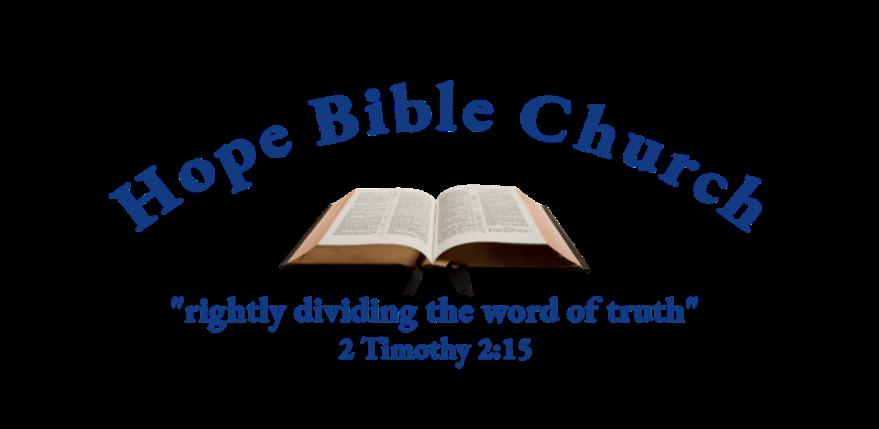 Hope Bible Church GA
