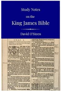 study notes on the King James Bible